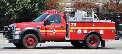 Los Angeles County Fire Department Lacofd Patrol 73 Fire Trucks Emergency Fire Emergency Vehicles