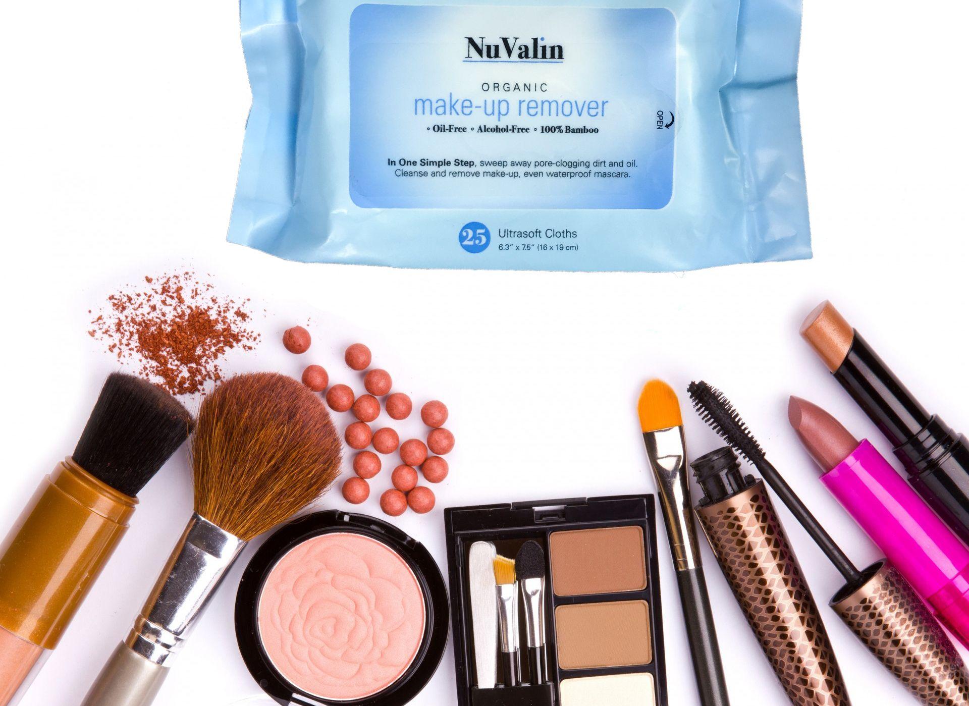 Organic Makeup Remover Wipes NuValin Organic makeup