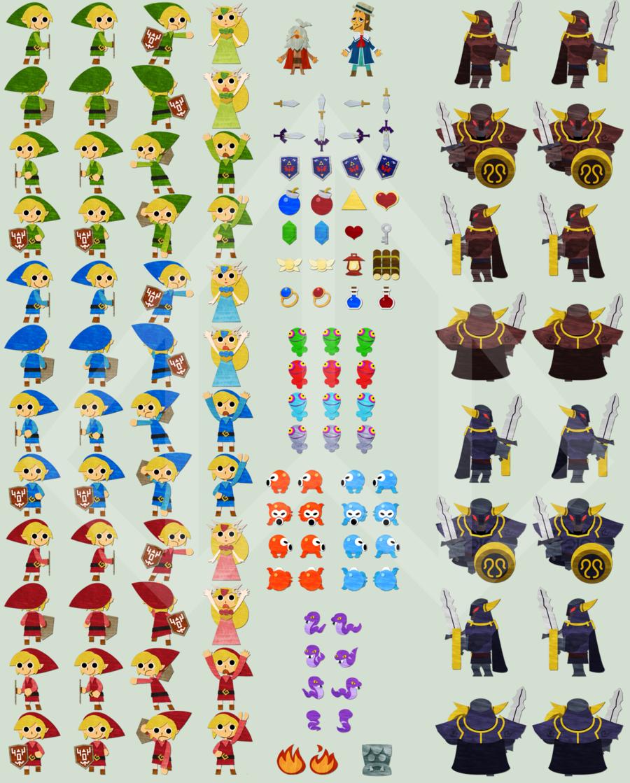 Eternal Dungeon Sprite Sheet by *Nelde on deviantART
