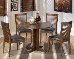 Ashley Furniture Stuman Round Drop Leaf Table D293 15 Round
