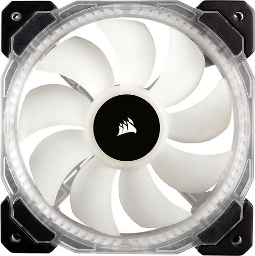 Corsair Hd Series 120mm Case Cooling Fan Kit With Rgb Lighting