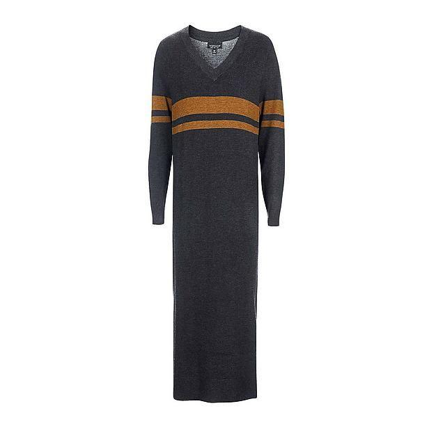 9e74bbf3a26 #Topshop #jurk #wehkamp #knit #wear #stripe #stripes #long #maxi #winter  #dress #deep #v #quality