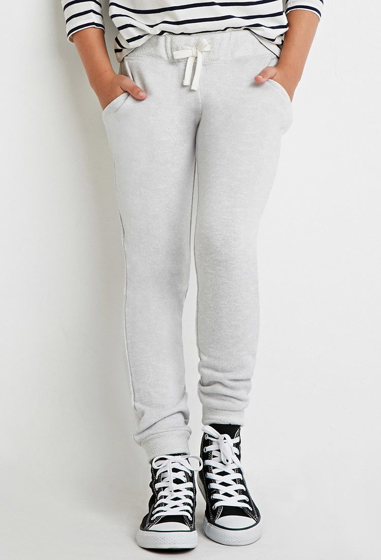 Girls French Terry Sweatpants (Kids)
