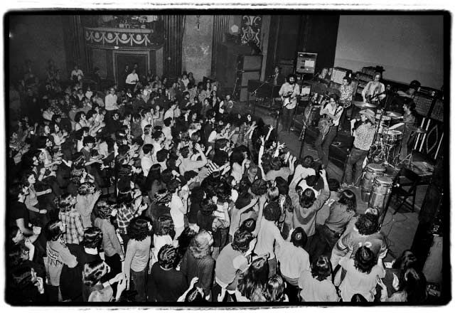 Photo of the day (Fillmore East) : gratefuldead