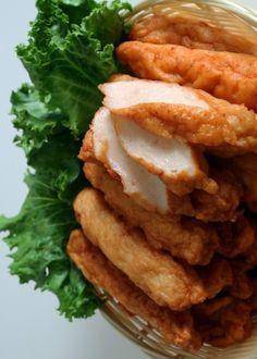 ODENG aka EOMUK (korean-style fishcake) [Korea] [maangchi] [seafood paste, fishcake paste, fish paste, seafood cake, crab cake, fishcake, shrimp cake]
