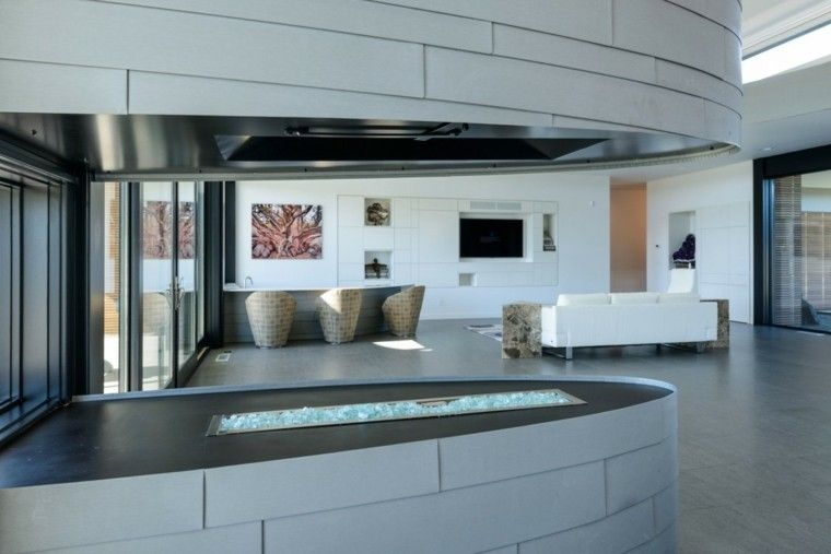 Tipos de chimeneas perfectas para un hogar acogedor Acogedor