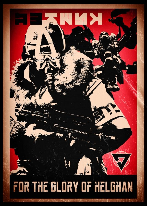 "Killzone Propaganda For The Glory Of Helghan #Displate explore Pinterest""> #Displate artwork by artist… 