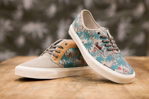vans palm tree shoes