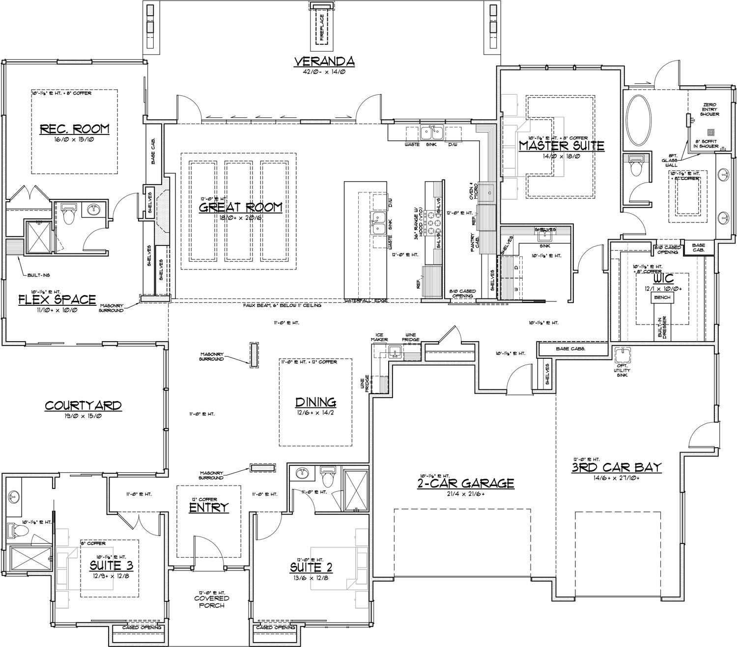 Pahlisch Serenity At The Portland Nw Natural Street Of Dreams House Floor Plans House Plans Floor Plans