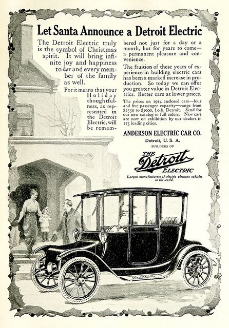 1914 Detroit Electric Anderson Electric Car Co Electric Cars