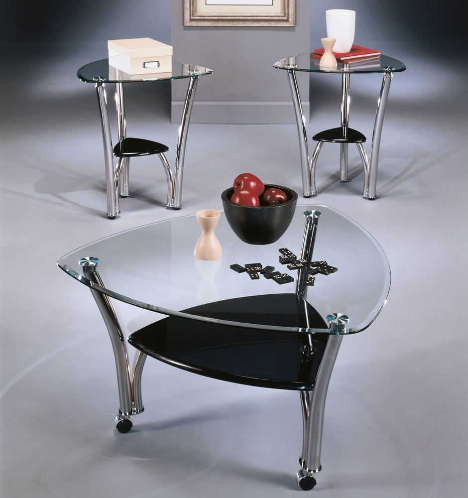 77 Triangle Glass Coffee Table Best Cheap Modern Furniture