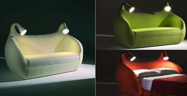 Delightful Morpheo Sofa Bed From ModernFurnitureClassics