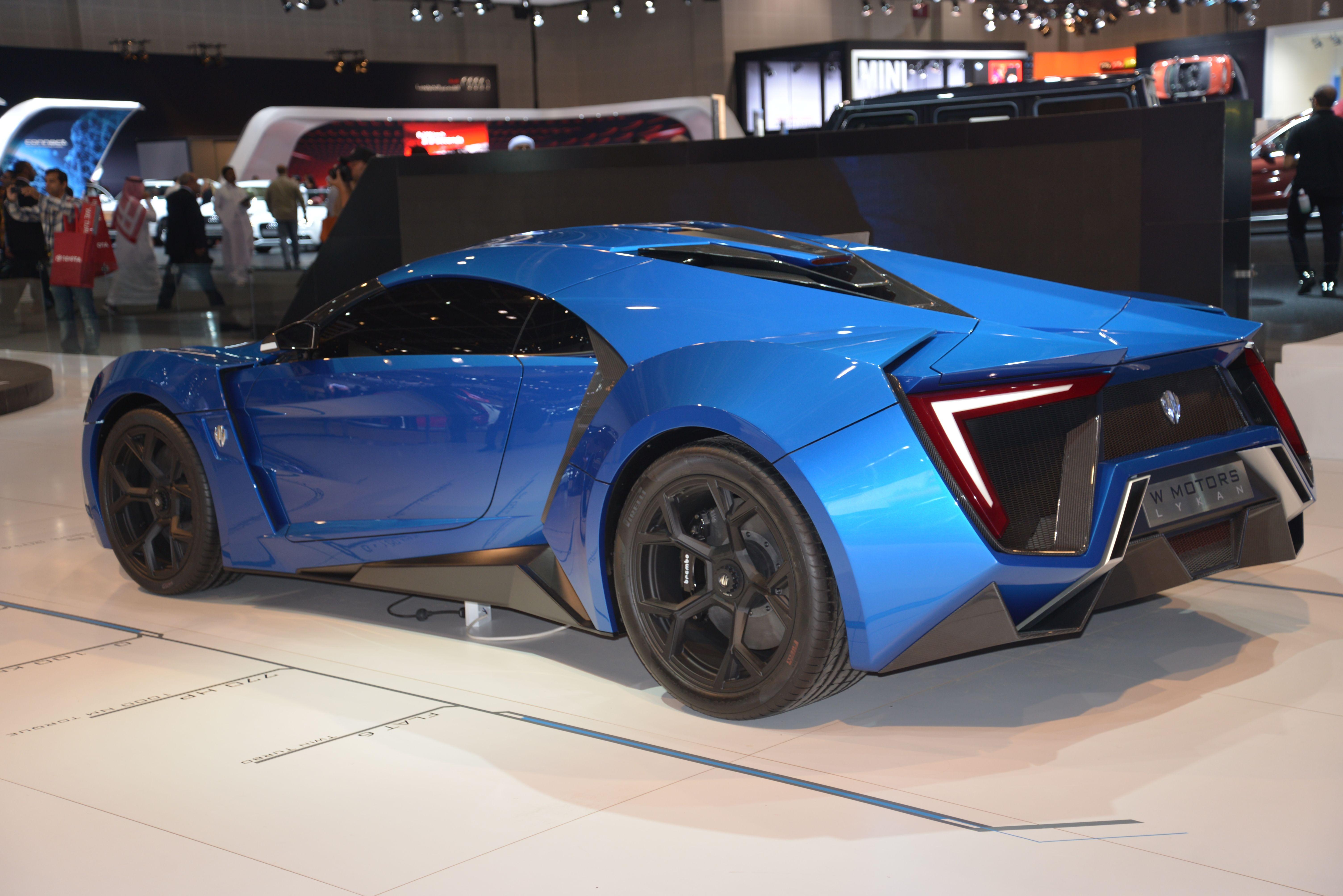 Lykan Hypersport At Dubai Motor Show 2013 Cars Supercars