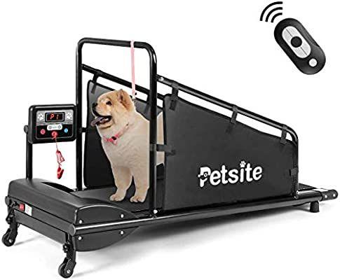 Amazon Com Goplus Dog Treadmill Pet Running Machine For Small
