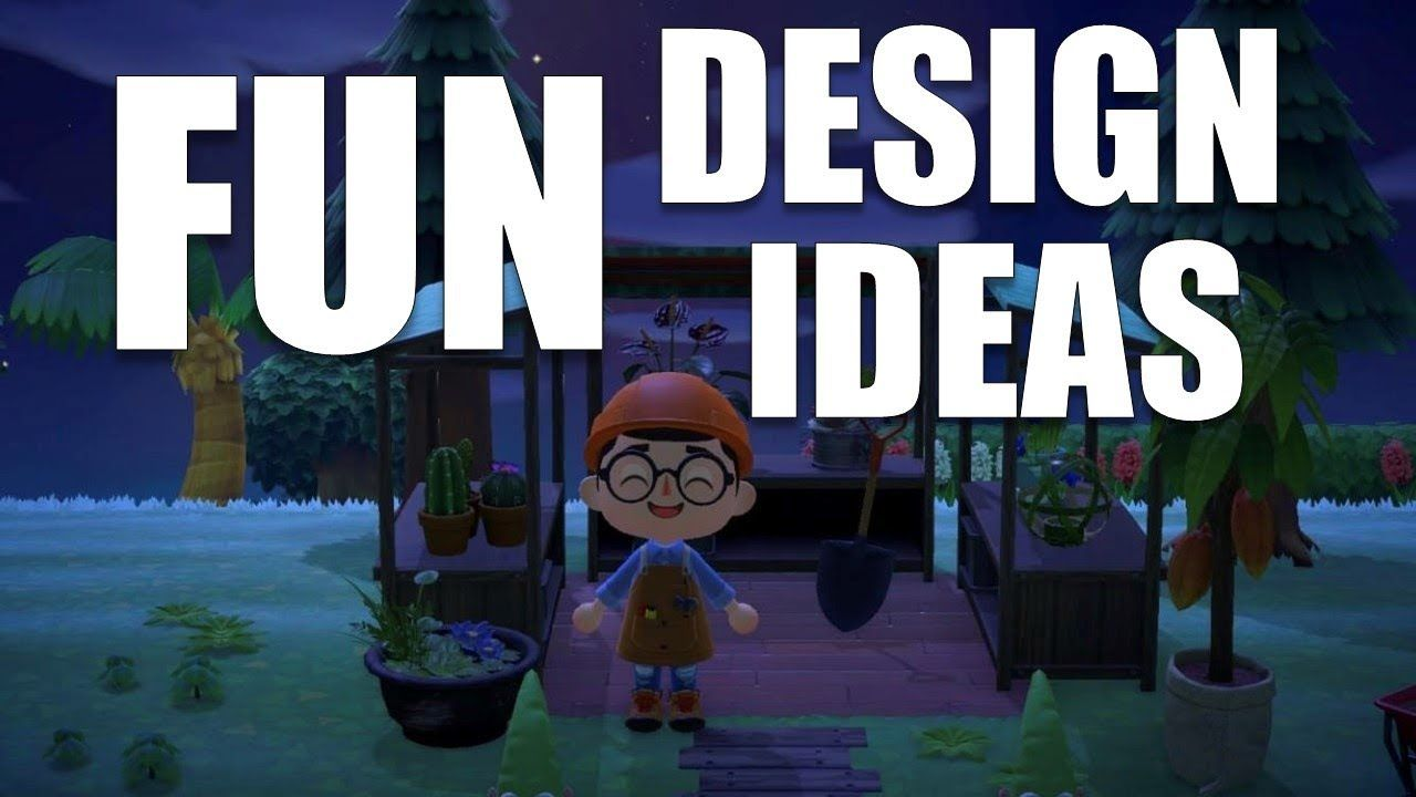 fun design ideas for your island  animal crossing new