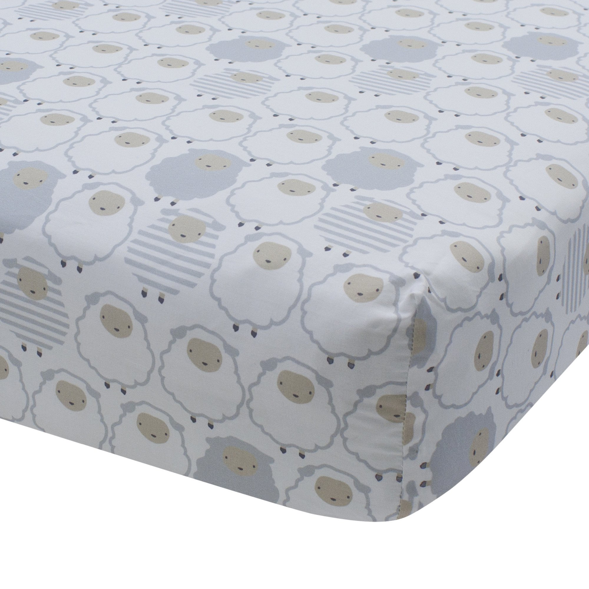 signature goodnight sheep fitted crib sheet nurseries pinterest