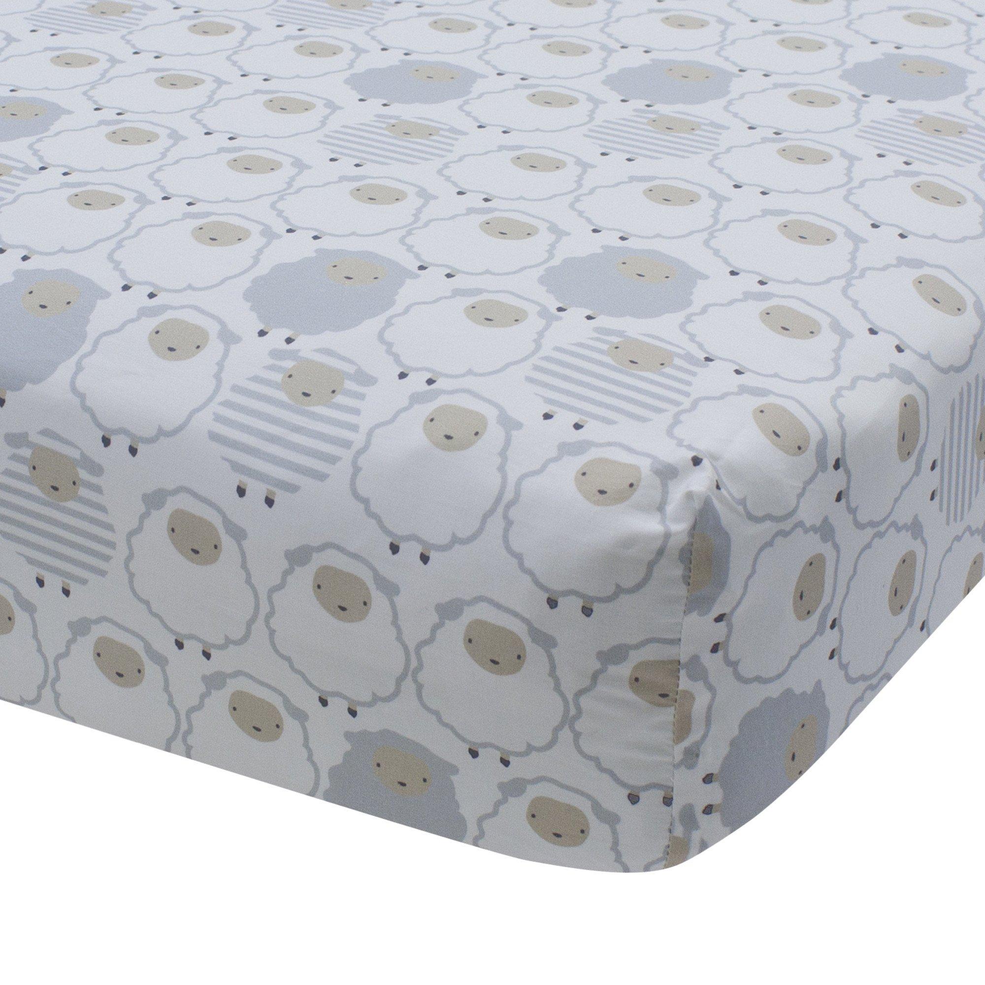 signature goodnight sheep fitted crib sheet nurseries pinterest