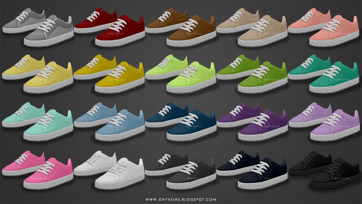 Sims  Onyxsims Basic Skater Shoes