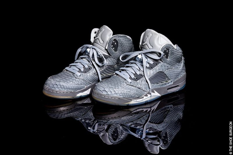 detailed look d2467 e473b The Shoe Surgeon Python Nike Air Jordan