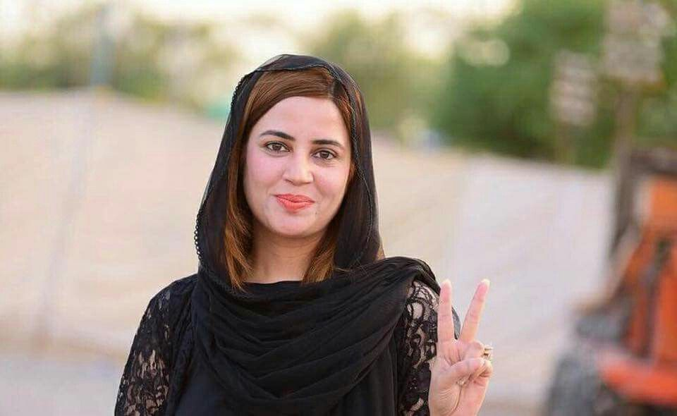 Zartaj Gul hot female politician