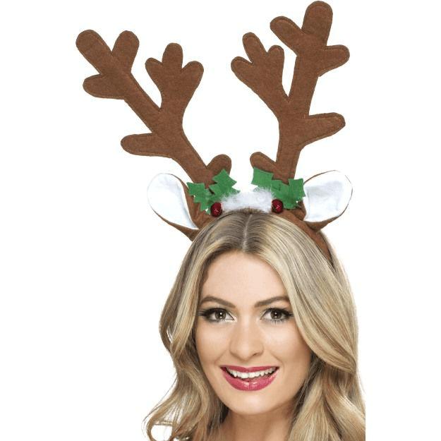 Reindeer Antlers Headband Reindeer Antlers Christmas Tree Hat Christmas Accessories