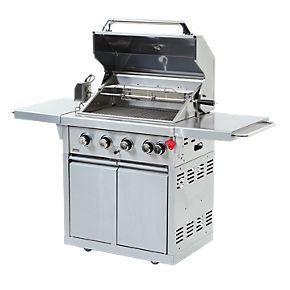 Swiss Grill Z2 460 Zurich 4 Burner Gas Barbecue | Barbecue