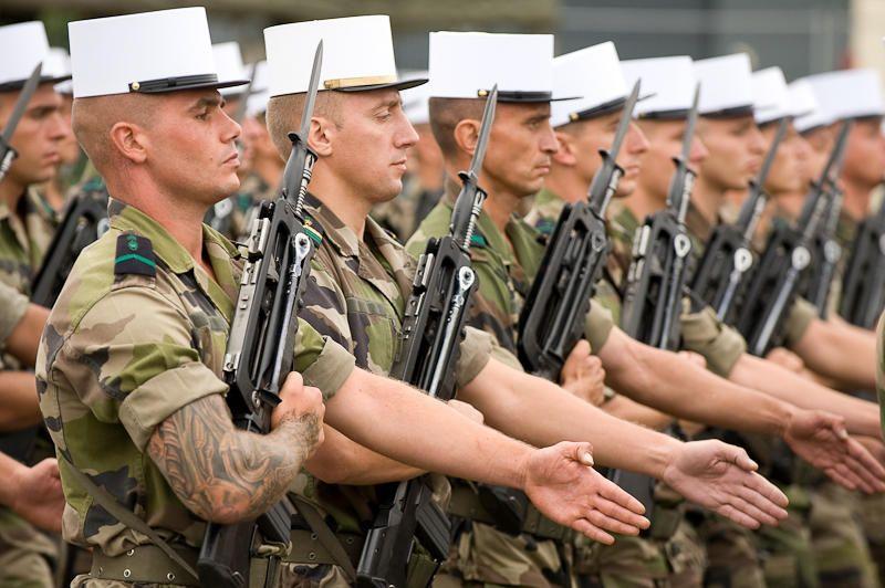 French Foreign Legion Armee Francaise La Legion Etrangere Armee De Terre