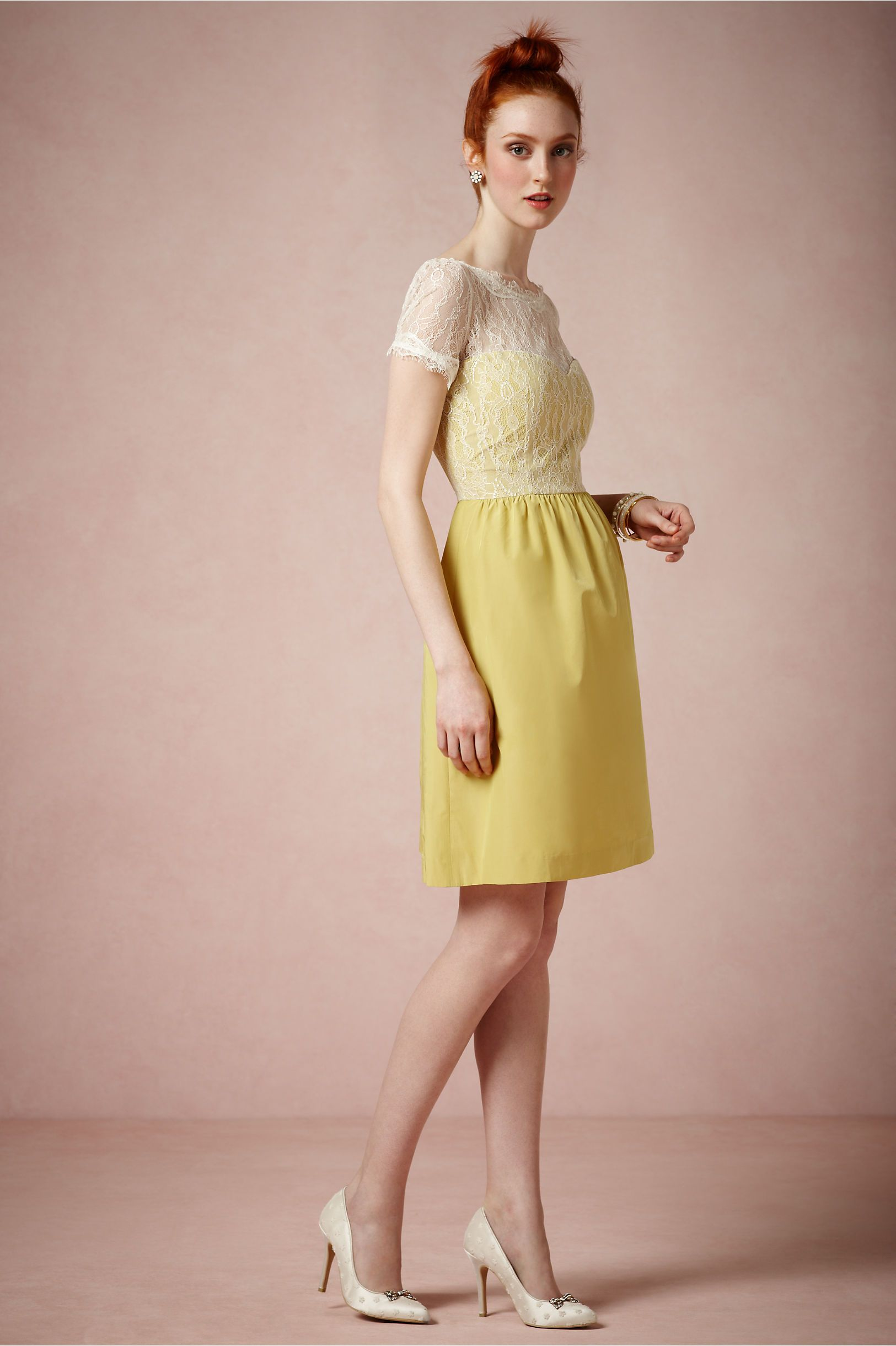for a spring wedding bridesmaid dress Sorbetto Dress from BHLDN ...