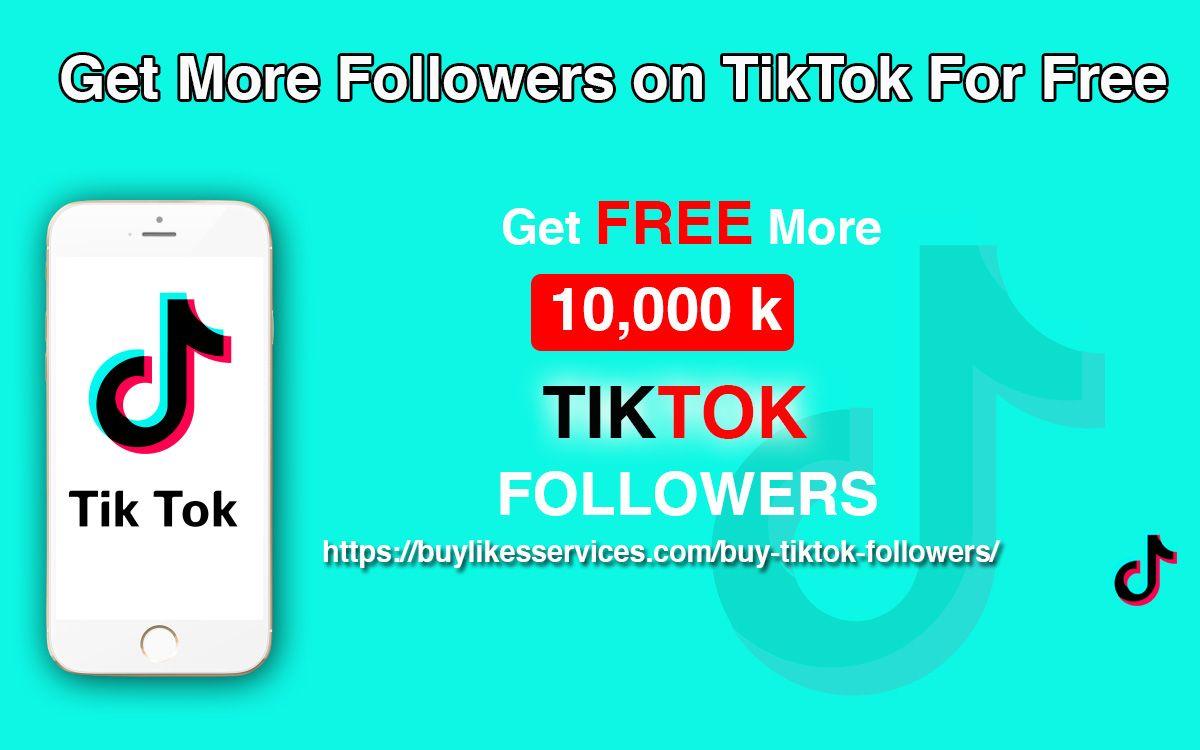 Buy TikTok Followers And Be A Global Star - 100% Real & Fast | Get more  followers, How to get followers, More followers