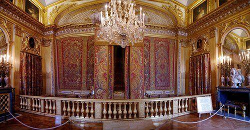 Versailles La chambre du Roi | Versailles, Chateau france, Paysage france