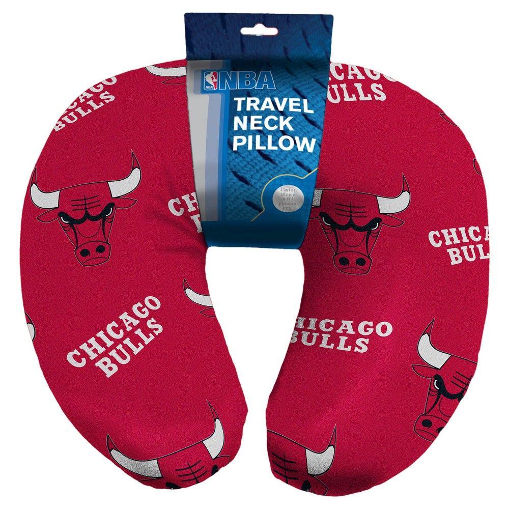 Chicago Bulls Northwest Travel Support Pillow