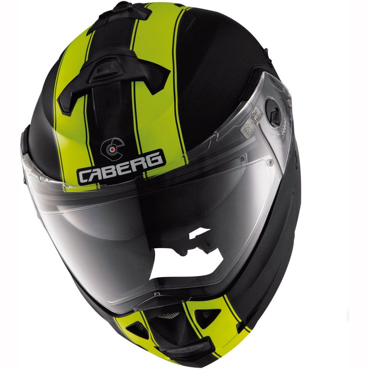 Caberg Helmet Duke Legend - Black Yellow