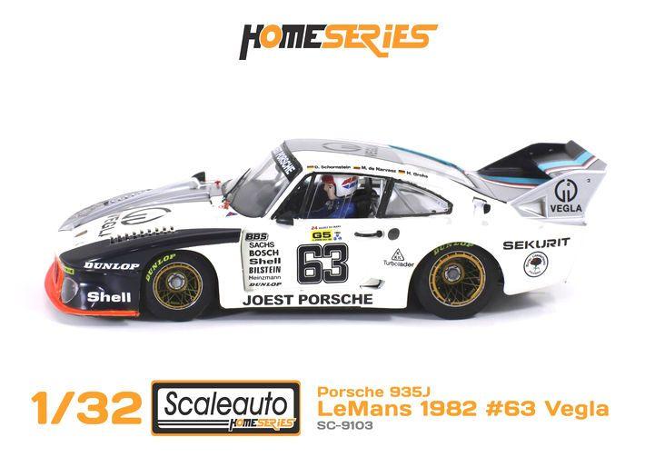 Scaleauto - Porsche 935J Le Mans 1982 #63 Vegla (SC-9103) - Scaleauto - Porsche 935J Le Mans 1982 #63 Vegla (SC-9103) #slotcar #scaleauto