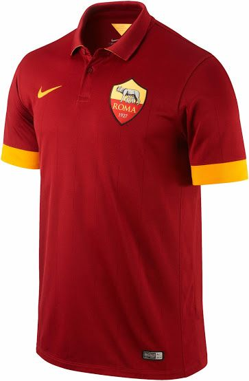 58c7dba5e Nike AS Roma 14-15 (2014-15) Home