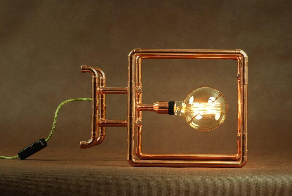 Lampa Miedziana Caso Copper Lamps Lamp Wall Lights