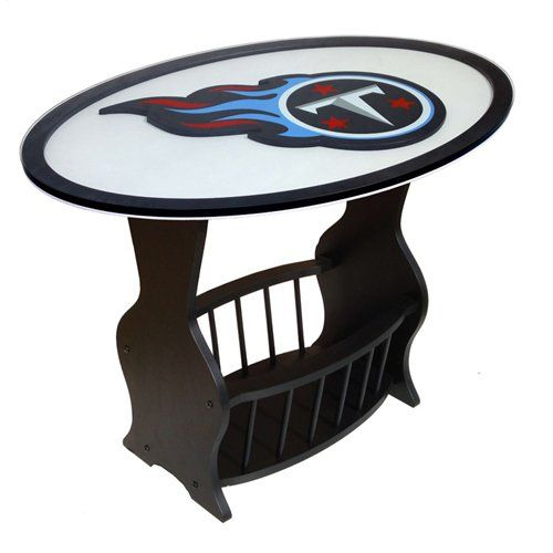 Best Fan Creations Tennessee Titans Logo End Table End Tables 400 x 300