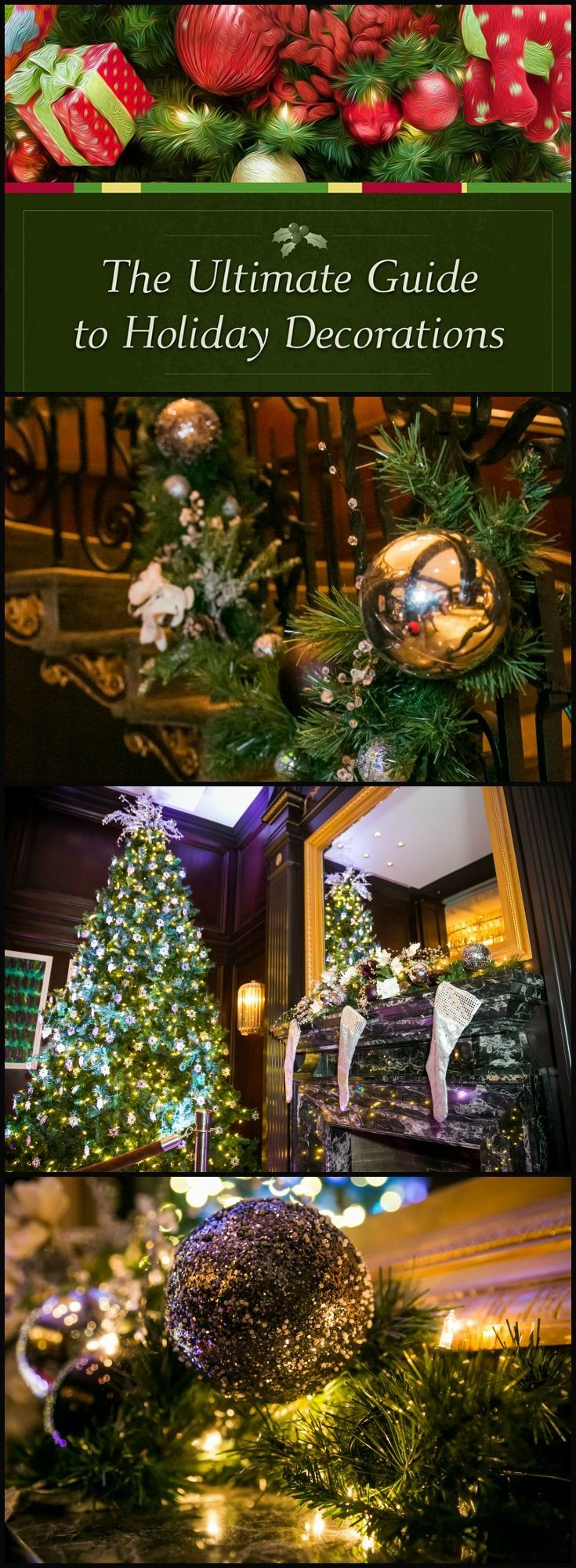 tips from professional designers the ultimate guide to holiday decorations http - How To Decorate Your Christmas Tree Like A Professional Designer