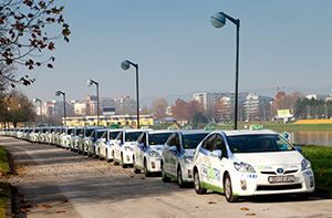 Eco Taxi Is First Environmentally Friendly Taxi Cab In The City Of Zagreb Eko Taxi Has Been Recognized As A Co City Of Zagreb Environmental Awareness Taxi Cab