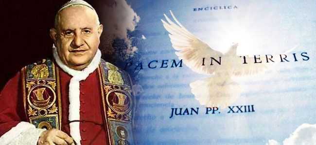 La paz es posible sólo con Dios, recuerda al mundo Juan XXIII