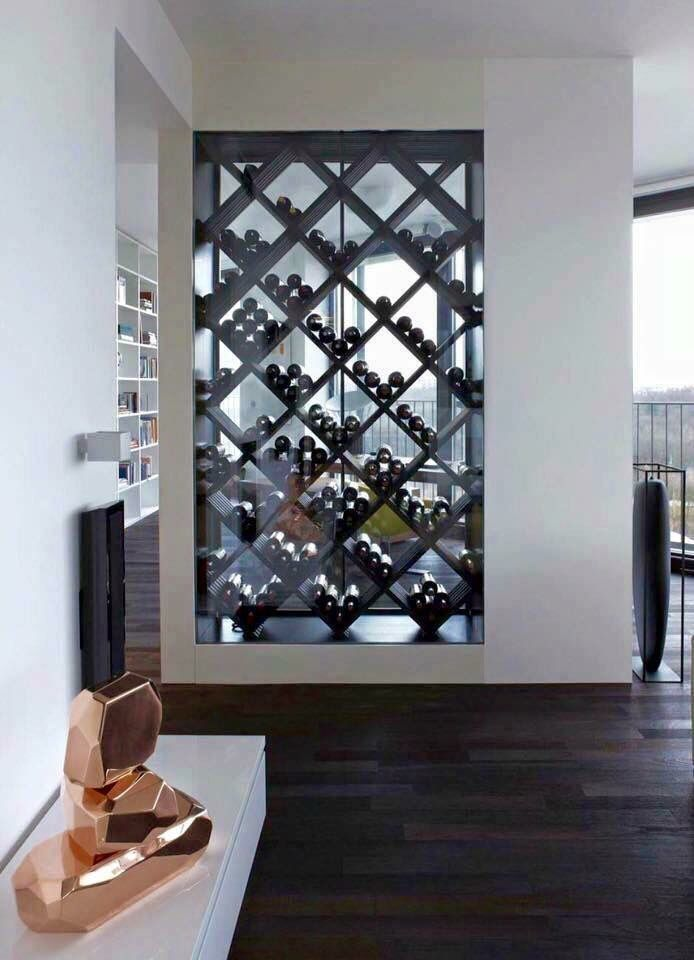 Pin On Living Room #wine #rack #in #living #room