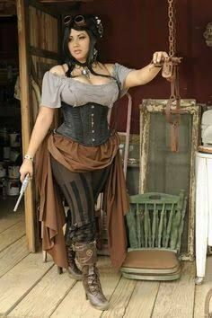 image result for cosplay steam punk for plus size girls | beauty