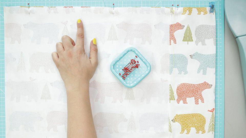 Werbung Bettwasche Fur Kinder Nahen Und Spannbettlaken Nahen Mit