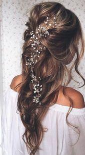 Die schönsten Brautfrisuren 2019: Wir sagen Ja zu diesen Haar-Trends! – #Brautf…