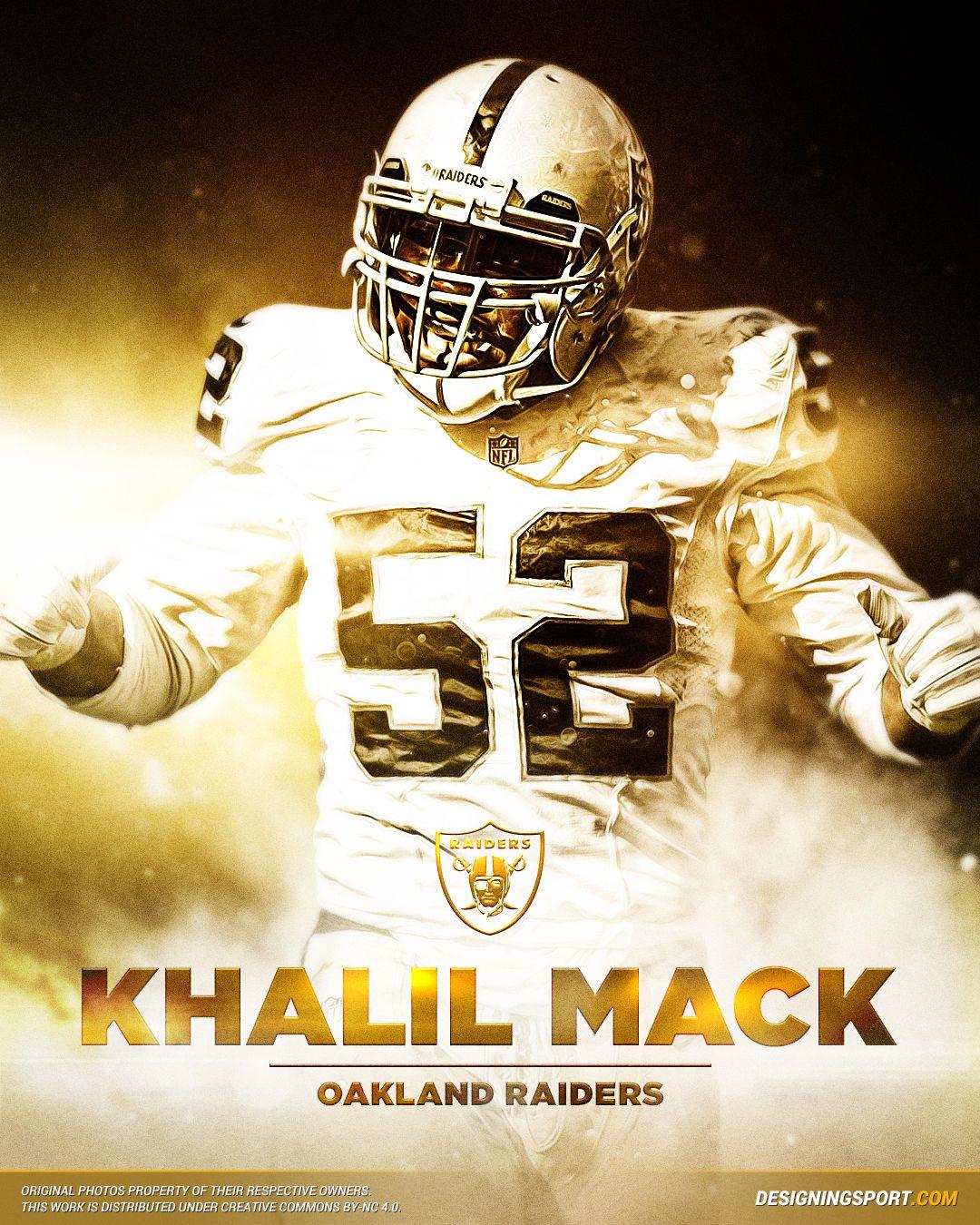 Designing Sport — Khalil Mack 8f2cdbc80efd5