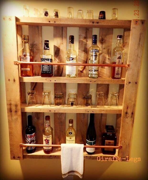 Bar En Palette | Maudite Good Idea ! | Pinterest | Bar