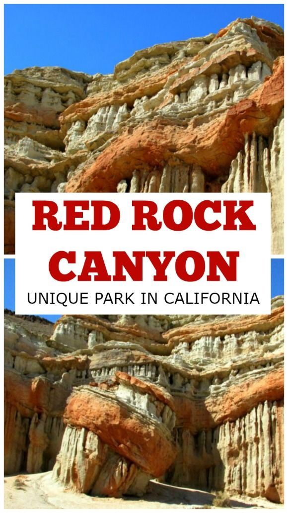 Red Rock Canyon: Unique Park in California - Tanam