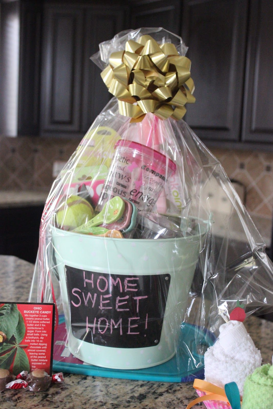 housewarming basket | real estate closing gifts | pinterest
