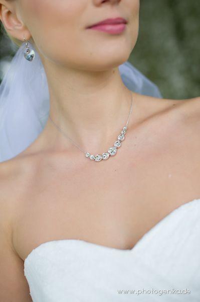 Kleidung & Accessoires Armband Ohrringe Ring Creme Guter Geschmack Hochzeit Braut Schmuck Set