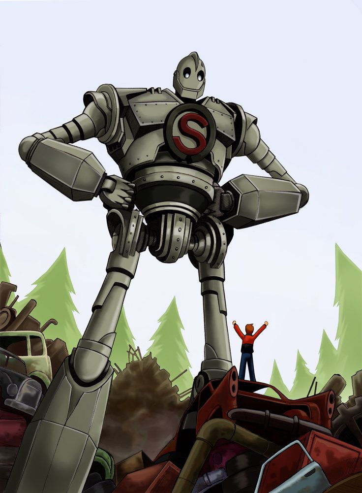 The Iron Giant by harrybognot deviantart com on @DeviantArt | IRON