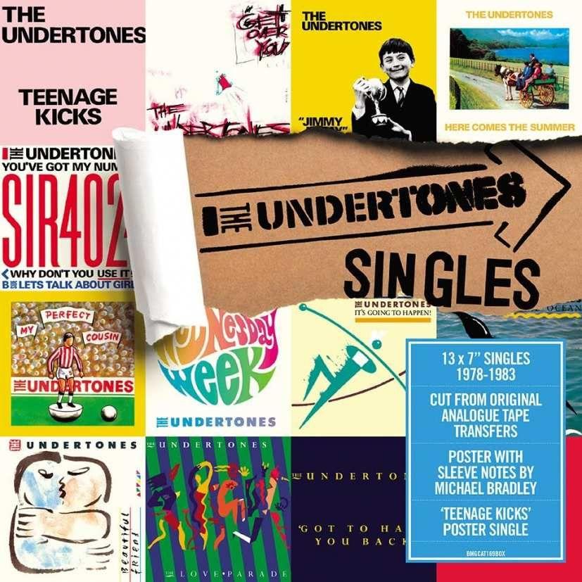 The Undertones Vinyl Singles Box Set Release For 21st April Rsd The Undertones Boxset Vinyl